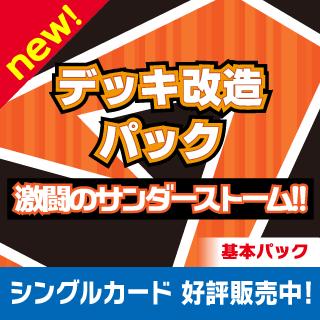 デッキ改造パック 激闘のサンダーストーム!!